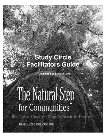 The Natural Step Study Circle Facilitator Guide - web-3