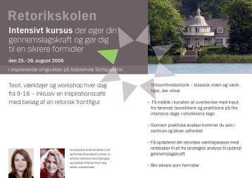 Retorikskolen - Anne Katrine Lund