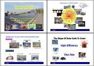 Super High Efficiency Thin Film Solar Cells