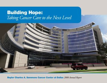 Building Hope: Taking Cancer Care to the Next Level