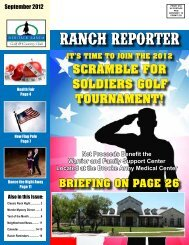 brIefIng on page 26 - Heritage Ranch