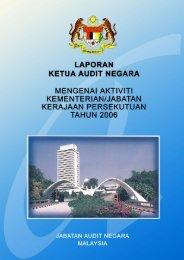 Aktiviti - Jabatan Audit Negara