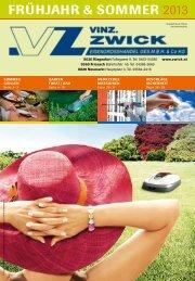 Download Zwick Katalog Frühjahr & Sommer 2013