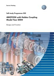 SSP 333 - 4MOTION with Haldex Coupling Model Year 2004