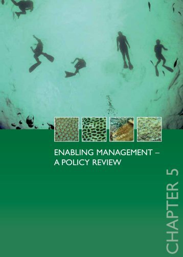 Chapter 5. Enabling Management - NOAA Coral Reef Information ...