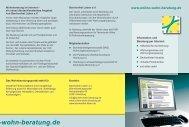 Info-Faltblatt - Barrierefrei Leben e.V.
