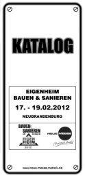 Eigenheim SN 07 - Neue Messe GmbH