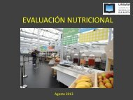 Evaluación alimentaria