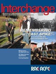To download Interchange magazine, click here (pdf 4.9 mb)
