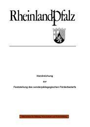 Handreichung sonderpädagogischer Förderbedarf - VBE Rheinland ...