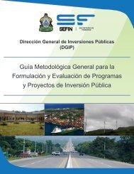 Guía Metodológica General para la Formulación y Evaluación de ...