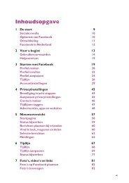 1 De start 9 2 Voor u begint 13 3 Starten met Facebook 19 4 ...