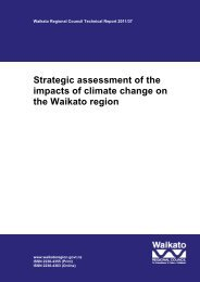 Strategic assessment of the impacts of climate change on the ...