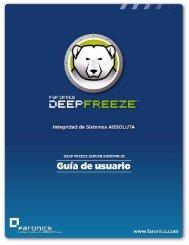 Deep Freeze Server Enterprise User Guide - Faronics
