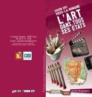 Saison 2011 - Vieux-la-Romaine, l'art dans tous ses états