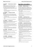 Safety and operating instructions - Page 7