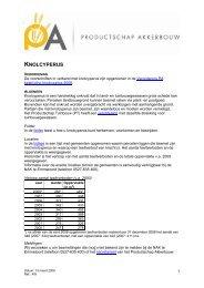 overzichtsnotitie knolcyperus - Productschap Akkerbouw