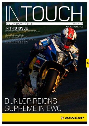 download PDF in English - Dunlop Motorsport