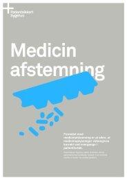 Medicinafstemningspakken - Patientsikkert sygehus