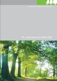 85. Jahresbericht 2006/2007 - AWV