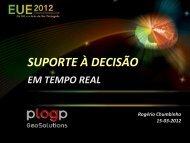 Rogério Chumbinho 15-03-2012 - Esri Portugal
