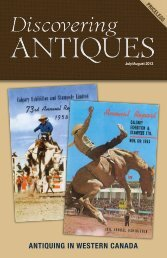 July/Aug 2013 - DiscoveringANTIQUES.com