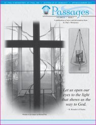 Fall 2011: Vol. 22: Issue 1 - St. Paul's Monastery