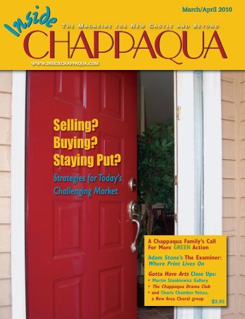 Download the March 2010 issue (PDF) - Inside Chappaqua