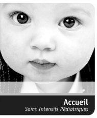 Guide d'accueil - Soins intensifs pédiatriques - CHUQ