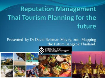 Criteria - Pacific Asia Travel Association Thailand Chapter