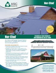 Nor-Clad - ASC Building Products
