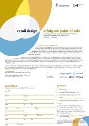 erfolg am point of sale retail design - BauNetz