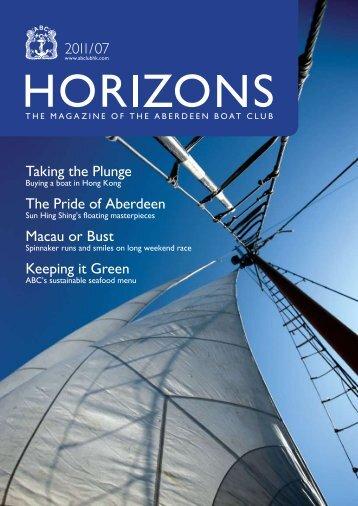 Jul 2011 Issue - the Aberdeen Boat Club