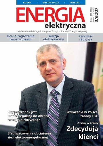 numer 3/2007 - E-elektryczna.pl
