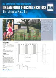Victoria Bow Top PDF - Fence Center