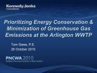Prioritizing Energy Conservation & Minimization of ... - pncwa