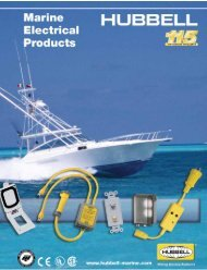 New Marine Products - Hubbell Wiring Device-Kellems