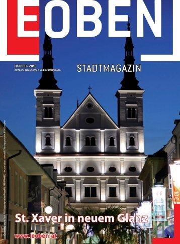 Oktober 2010 - Stadtgemeinde Leoben