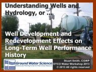 Understanding Wells and Hydrology, or … Well ... - Ohiowater.org