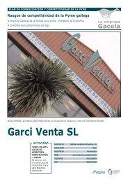 Reportaje: GARCI VENTA, S.L.: Empresa Gacela - Ardan