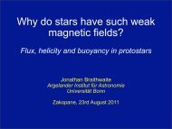 Why do stars have such weak magnetic fields?