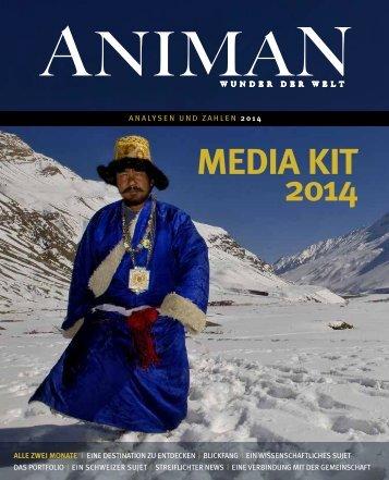 Media Kit 2013 - anzeigenpreise.ch