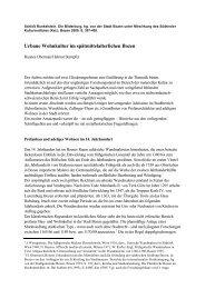 Urbane Wohnkultur im spätmittelalterlichen Bozen - Comune di ...