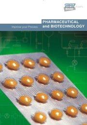 Biopharmaceutical pumps using contamination ... - Watson-Marlow