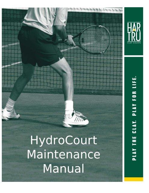 HydroCourt Maintenance Manual - Har-Tru on