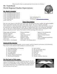 2013-2014 Course Syllabus - Student Version - Teachers