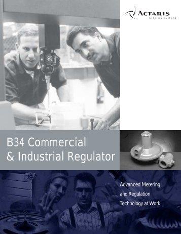 B34 Series Regulator - Istec Corp.