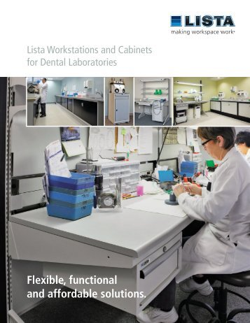 Lista Dental Lab brochure