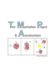The Manhattan Project og atombomben - matematikfysik
