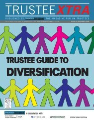 Trustee guide to diversification - Engaged Investor